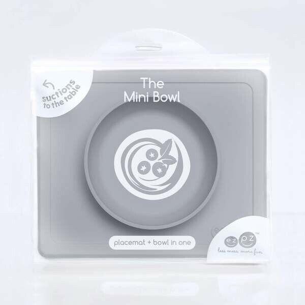 EZPZ Mint Play Mat- Baby- Pet- Feeding- Grey/Blue/Green