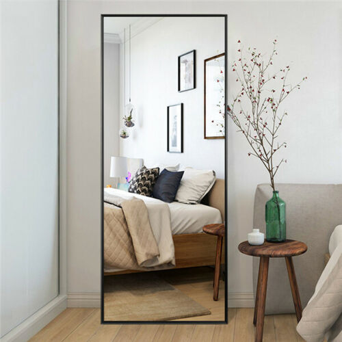 Full Length Mirror Bedroom Floor Mirror Standing Hanging Lar