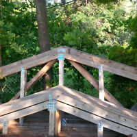 Price Reduced!!! Roof Trusses for 20x20 and 12x20 buildings