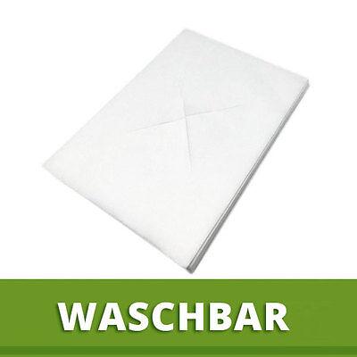 100 St. XL Vlies Nasenschlitztücher 40x30cm Hygieneauflage Waschfaser