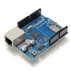 Ethernet Shield Module W5100 Micro SD Card Slot For Arduino UNO MEGA 1280 2560