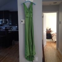 Green Joseph ribkoff prom dress gown