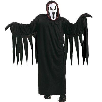 Kinder Kostüm SCHREIENDER GEIST –SCREAM Gr. 158  Halloween Ghost Horror #8118 ()