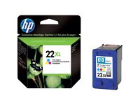 Brand new HP 22xl colour cartridges