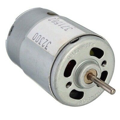 12v Dc Motor - Rc And Power Wheels - Powerful Fan Cooled High Speed Hobby Motor