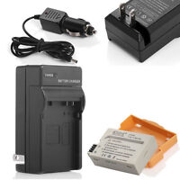 Canon Eos T2i T3i T4i T5i Kiss X5i LP-E8 battery+1Charger+Car/C