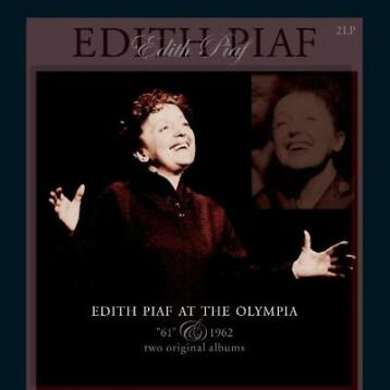 LP nieuw - edith piaf - AT THE OLYMPIA - 1961 &.. (nie..