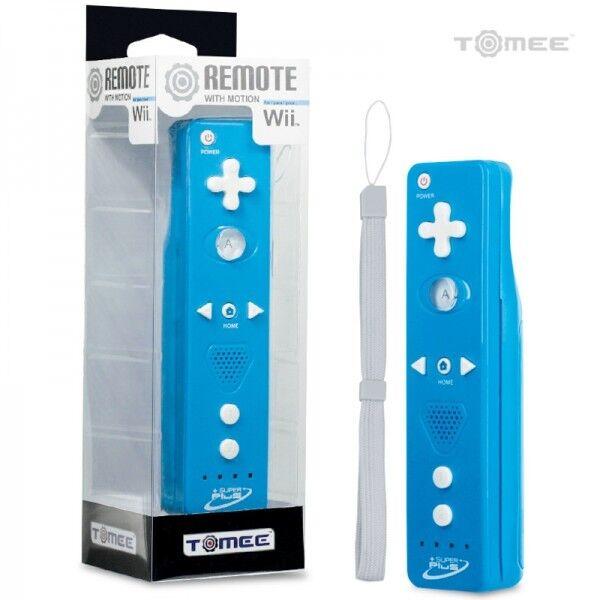 Wii U/ Wii Super Plus Built-in Wireless Remote (blue) - T...
