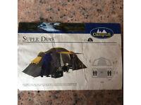 Campus Super Duo 2 Bedroom Tent