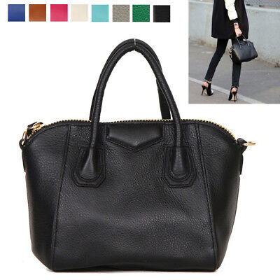 CELEBRITY ANTIGONA ST DAILY MINI TOTE SHOULDER CROSS BAG REAL COWHIDE (Cowhide Leather Mini)