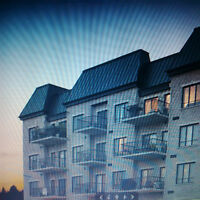 Laval condo large 3.5 for rent with garage