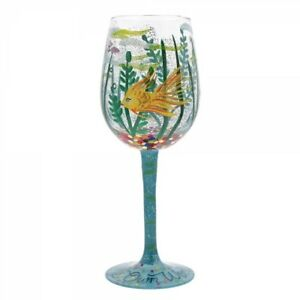 Lolita In My Own World Wine Glass