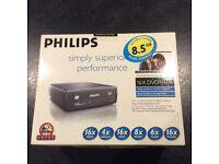 NEW Phillips portable DVD Rewriter