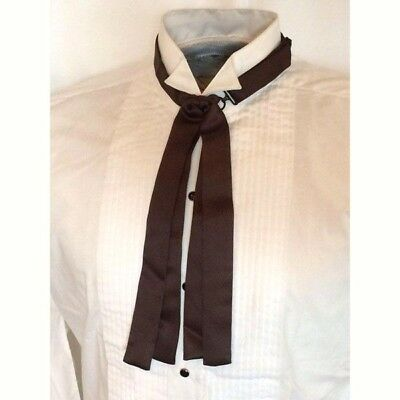 Doc Holliday Western Frontier Tie, Black or White