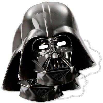 Star Wars Partymasken im 6er Pack, 23,5cm x 25cm