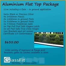 Aluminium Flat Top – In Soil - 11m Package inc. Gate Yatala Gold Coast North Preview
