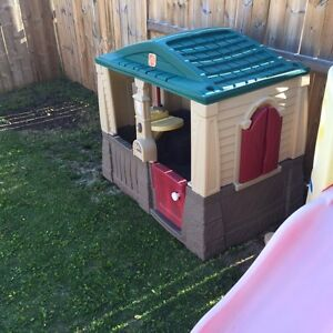 Play Cottage and Turtle Sandbox