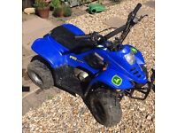 90cc electric start Rev and go kids quad bike +one for spares 4 stroke