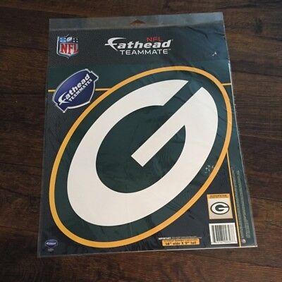 (NFL GREEN BAY PACKERS FATHEAD Peel & Stick vinyl decal, 14