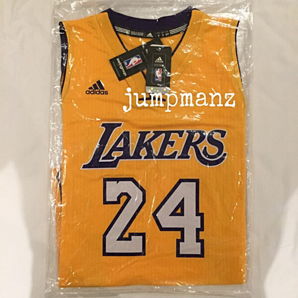 0815c8cd462 Los Angeles Lakers Kobe Bryant  24 - NBA Adidas Swingman Jersey (Authentic    Brand New)