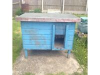 Small chicken shed