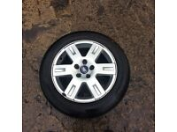 16 inch ford mondeo alloy rim tyre no good £40 Ono