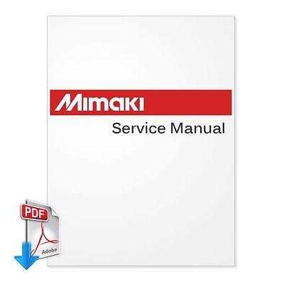 MIMAKI JV3-160SP English Service Manual PDF File