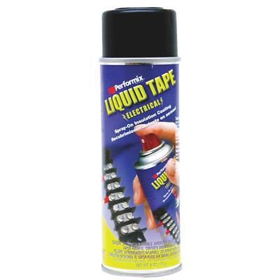 6 Pk Black Plasti Dip Spray On Rubber Coating Flexible Electrical Tape 16003-6