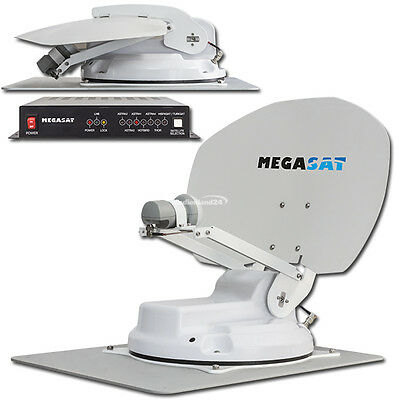 Megasat Caravanman kompakt vollautomatische Sat Satelliten Antenne System