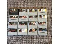 Set of 16 SNES Games, good titles