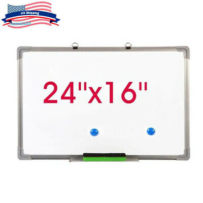 Us 24x16 Magnetic Dry Erase Board Whiteboard Eraser Set Office Notice Kid Study