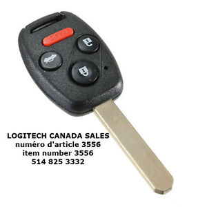 HONDA Remote Key (3+1) Button and Chip ID:46 (315MHZ)
