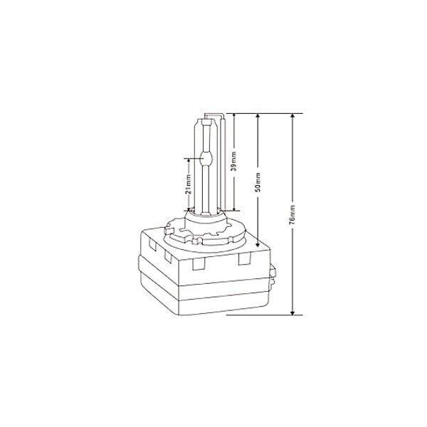 HID D1S (D1R D1C) 35W AC OEM Headlight Replacement Bulbs
