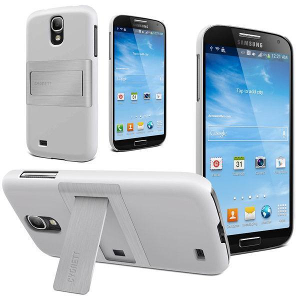 Cygnett Incline Case Plus Stand Cover for Samsung Galaxy S4 i9500 i9505 - White