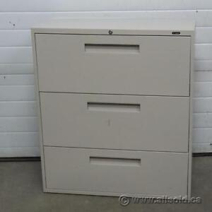 Selection of Quality 3 and 4 Drawer Lateral File Cabinets $250-$300