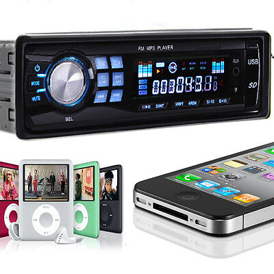 Car Audio Stereo In Dash Fm Receiver With Mp3 Player & USB SD Input AUX Receiver on Rummage