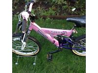 Girls Saxon bike
