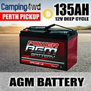135 AMP HOUR AGM BATTERY DEEP CYCLE SLA 12V Welshpool Canning Area Preview