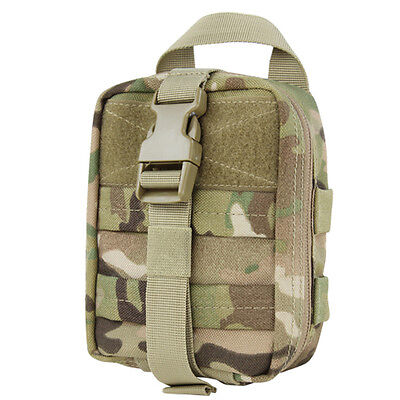NEW Condor 191031 Tactical MOLLE Rip-Away Lite EMT Medic Utility Pouch Multicam