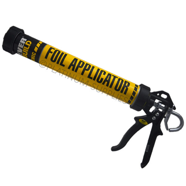 TECNIC FOIL PACK APPLICATOR GUN 600ML SAUSAGE SILICONE SEALANT EVERBUILD
