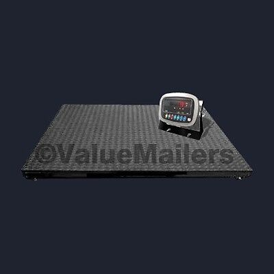 Floor Scale With Indicator Industrial Pallet 5000 Lb