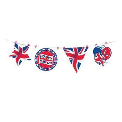 GB Pappaufsteller Banner Großbritannien Make Your Own Königliche Hochzeit 4m ()