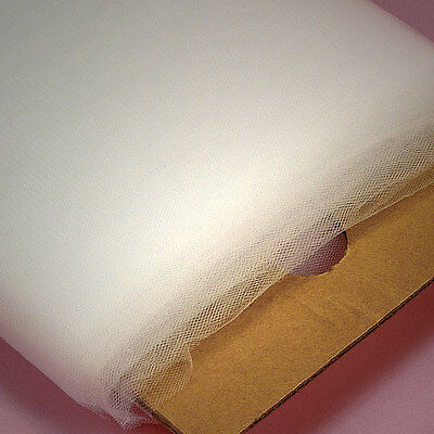 White Tulle Fabric (tulle fabric 54 inch .sold by 3 yards,)