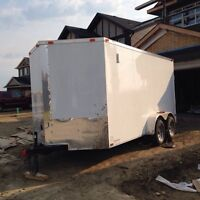 2015 16x7 cargo trailer for sale