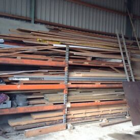 Large quantity of new timber