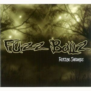 FUZZBALLZ-Rotten-Swamps-CD-PSYCHOBILLY-Russia-fuzzballs-rockabilly-NEW