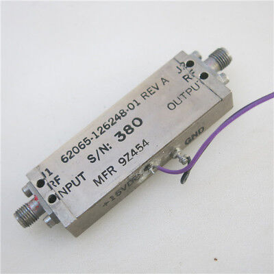 1pc 500MHz-8.5GHz 32db 12dbm SMA RF Coaxial Amplifier