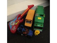 A selection of toys
