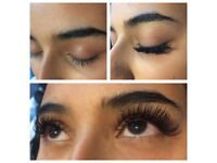 Eyelash extensions ****1D £25, 2D £35, Russian Volume £45****