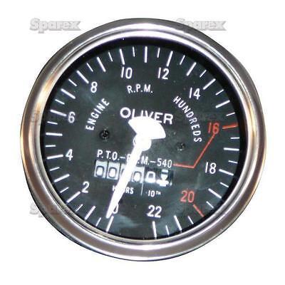 Oliver Tractor Tachourmeter Tractormeter Tachometer Super 55 66 Rc 77 Rc 100575a